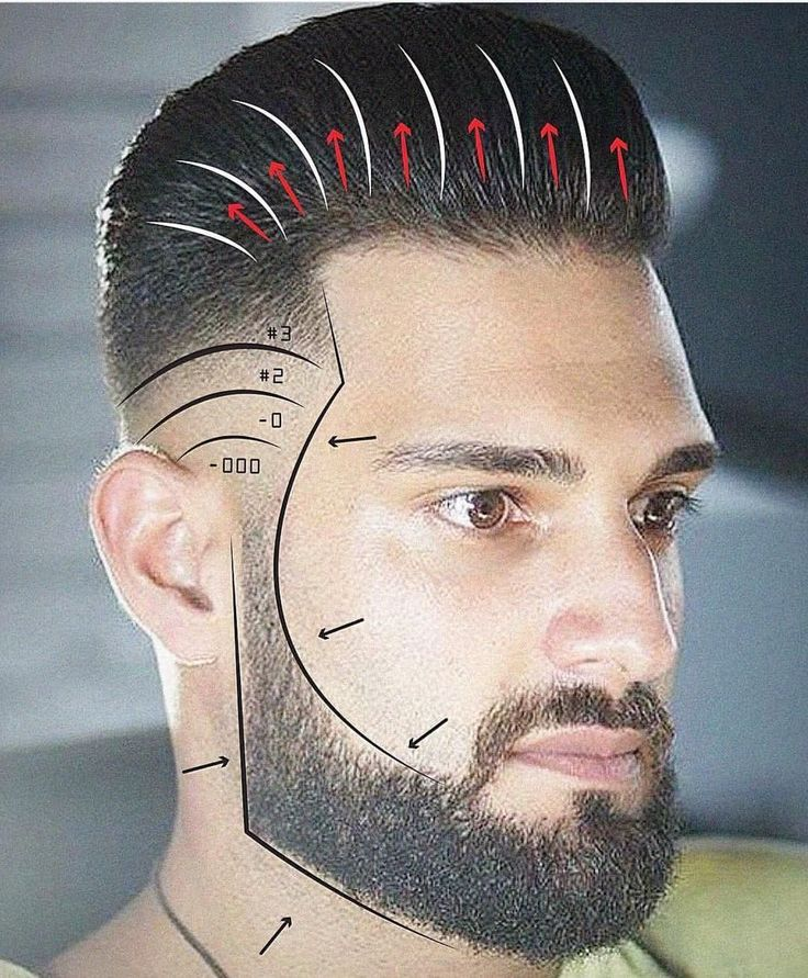 Proper Guide Of Fade With Slick Back On Top Long Hair