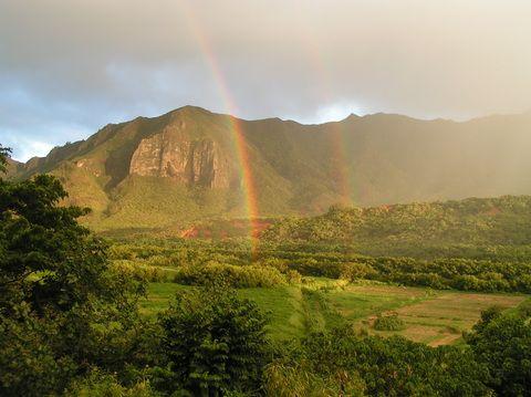 Estas son las vistas desde el balcón de una casa de intercambioCasas.com #Hawaii Paisajes espectaculares que cambian cada minuto.