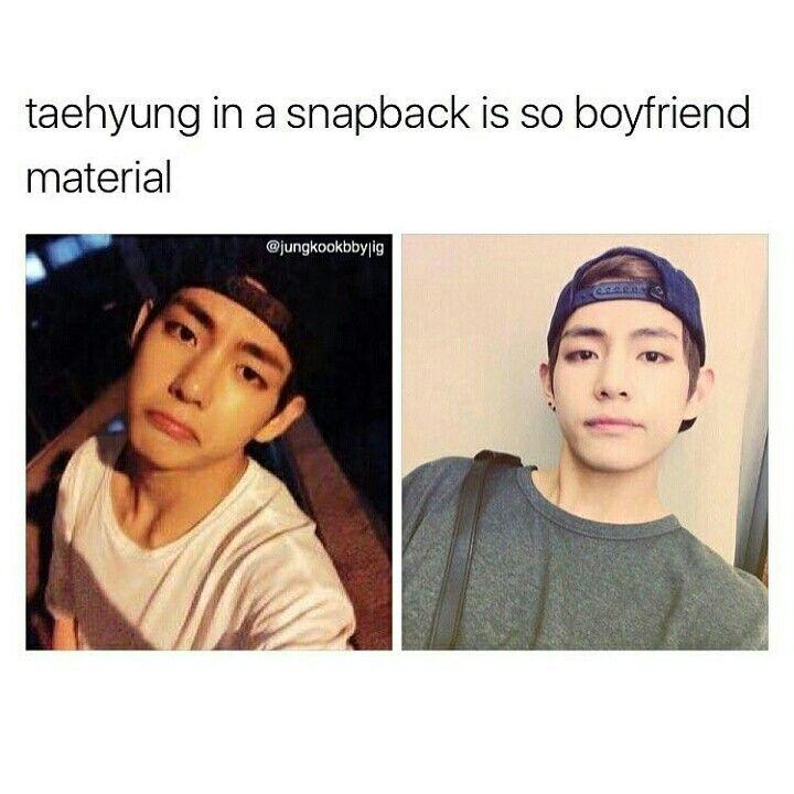 He is always boyfriend material.
