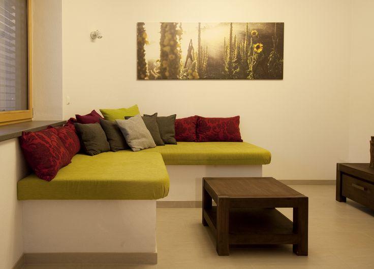 8 best Wohnen images on Pinterest Live, Style and Tv walls - sitzecke wohnzimmer design