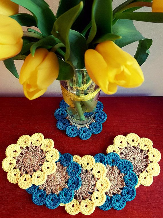 Check out this item in my Etsy shop https://www.etsy.com/listing/590314899/crochet-coasters-cup-mat-table-decor