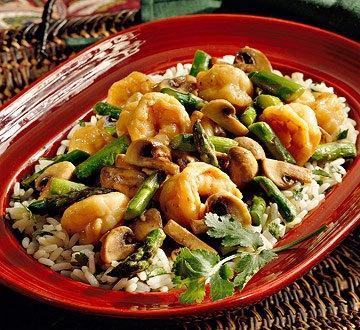 spicy garlic shrimp with coconut rice spicy shrimp coconut rice spicy ...