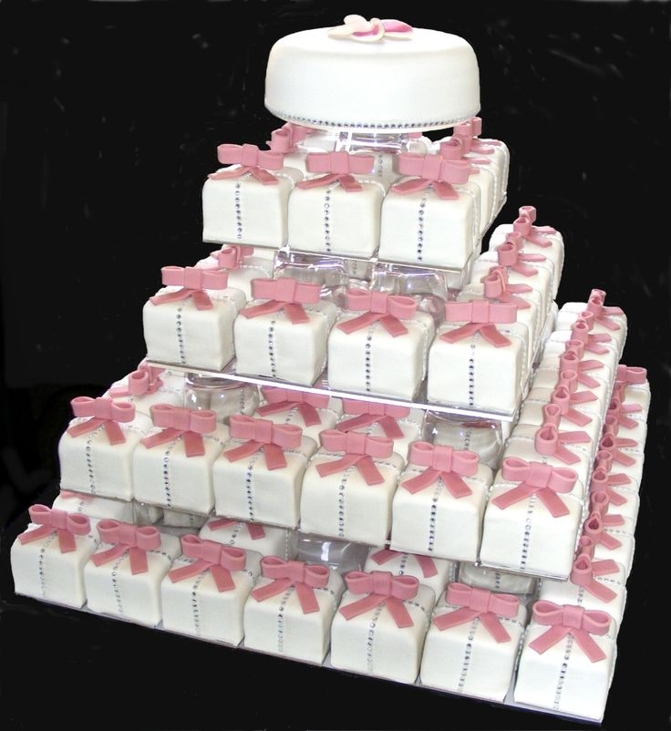 Cupcake Wedding Cakes: 51 Best Cake/cupcake Combo Images On Pinterest