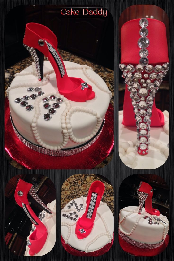 21st Birthday Cakes Bling