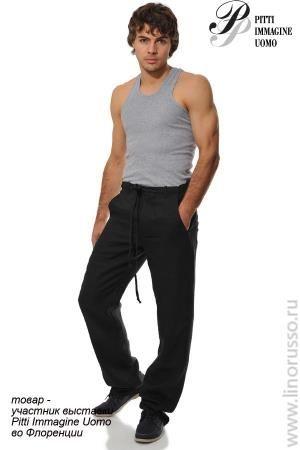 Брюки штаны мужские летние лен интернет магазин