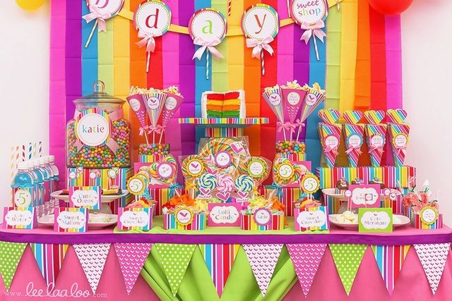 Lollipop Birthday Party