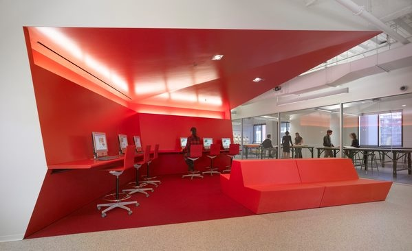 Colorful San Diego FIDM Campus by Clive Wilkinson