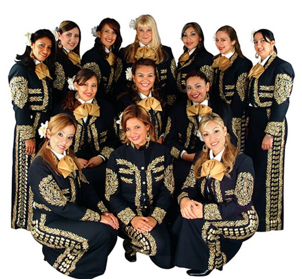 Grammy-winning all-female ensemble The Mariachi Divas at Silver Dollar City during World-Fest 2012