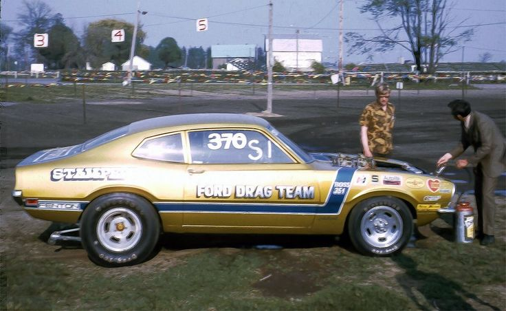 Old Ford Drag Cars