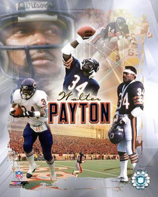 Walter Payton is from Columbia, MS