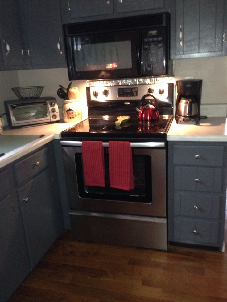 Grey Cabinets Peppercorn From Sherwin Williams Kitchen