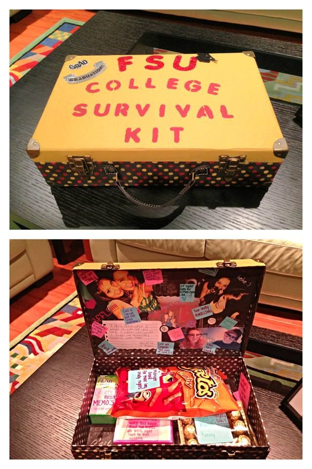 Alittle graduation gift i made for my friend just a little kit to help her…