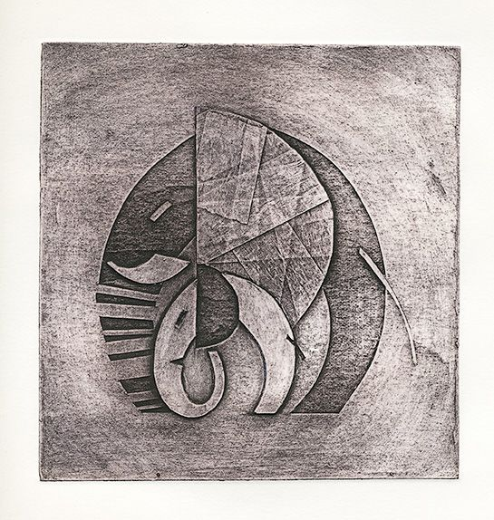 'Stand by Me' - Collagraph