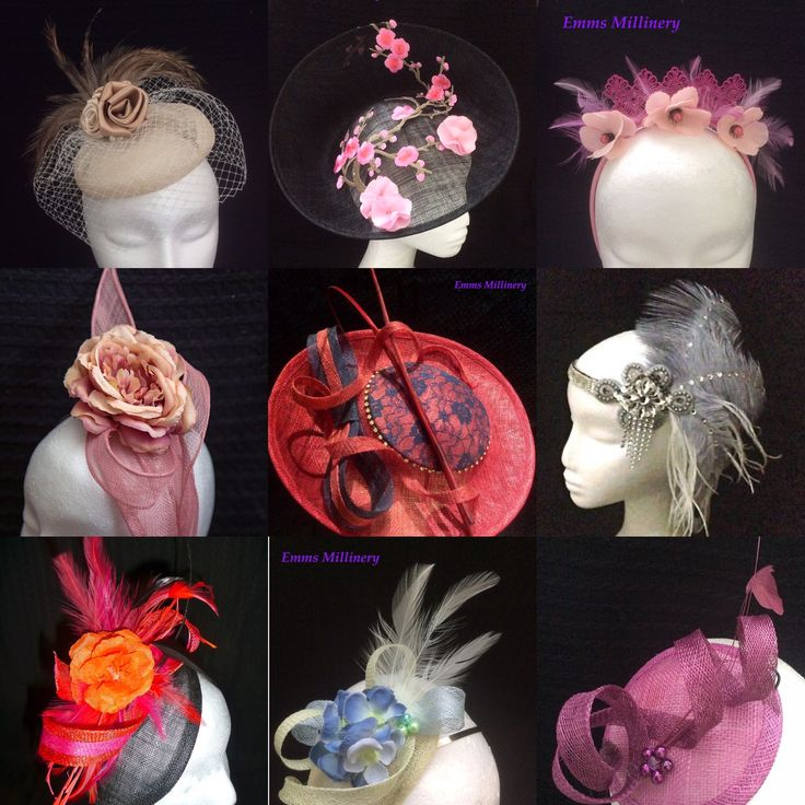 Fascinators by Emms Millinery