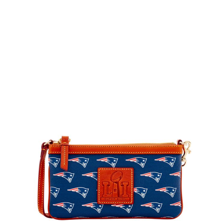 NFL Patriots Superbowl Wristlet