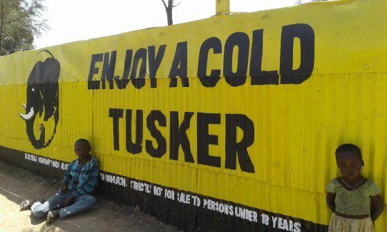 Kenya Safari, Tusker Beer