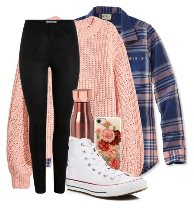 """""""✌"""" by charlottepolyvore ❤ liked on Polyvore featuring L.L.Bean, H&M, Ted Baker, Casetify and Converse"""