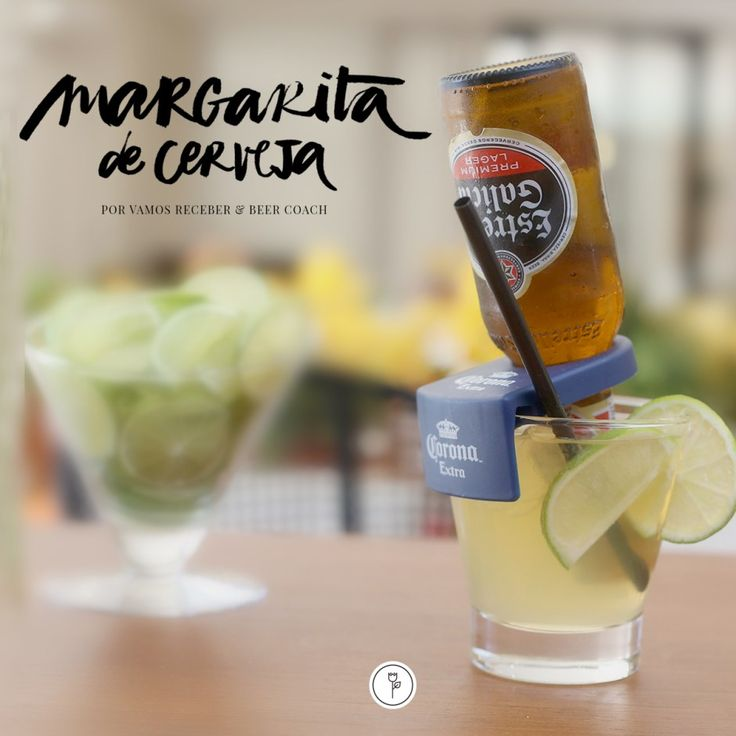 Aproveitando que vem por aí um dia a mais de descanso, pensamos em compartilhar com vocês hoje uma receita especial para regar encontros mais que animados com amigos queridos: Margarita de Cervejaby Beer Coach Eventos.