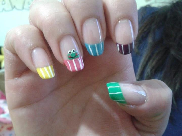 Foto de uñas decoradas de Diana Castaño Gallego (Facebook)