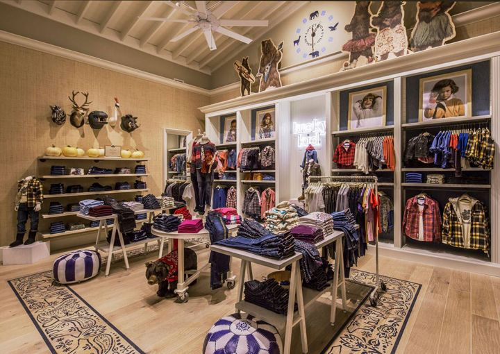 """Lucky Brand in Beverly-Hills USA, """"The Kids Department"""", pinned by Ton van der Veer"""