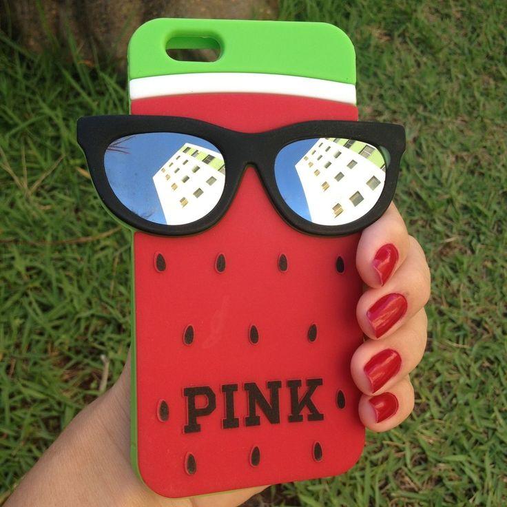 Veja nosso novo produto CASE DE SILICONE PINK MORANGO IPHONE 6/6S! Se gostar, pode nos ajudar pinando-o em algum de seus painéis :)