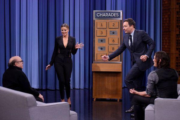 "Khloe Kardashian Photos - Danny DeVito and Khloe Kardashian Visit ""The Tonight Show Starring Jimmy Fallon"" - Zimbio"