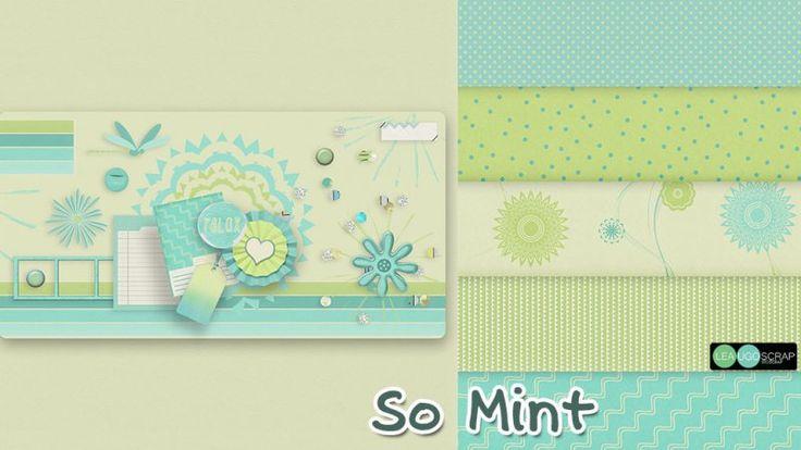 So Mint _ Mini kit by LeaUgoScrap