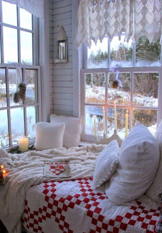 26 Coziest Winter Bedroom DĂŠcor Ideas To Get Inspired | DigsDigs
