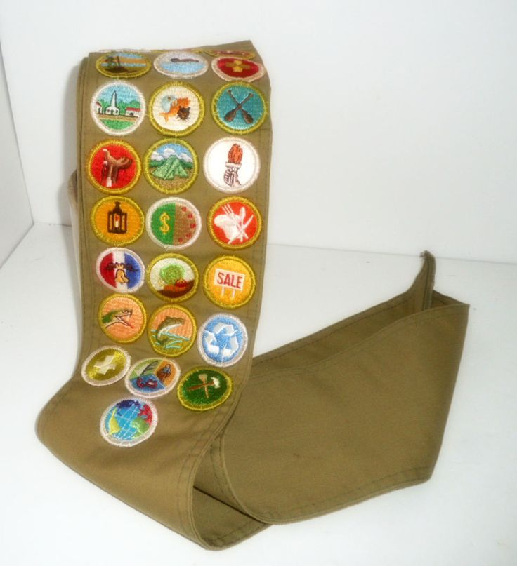 Boy Scout Memorabilia, Boy Scout Sash with Merit Badges, Scouting Merit Badges by rpreserved on Etsy