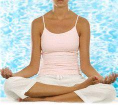 Aire Yoga: Practica la respiración profunda / Practice deep breathing