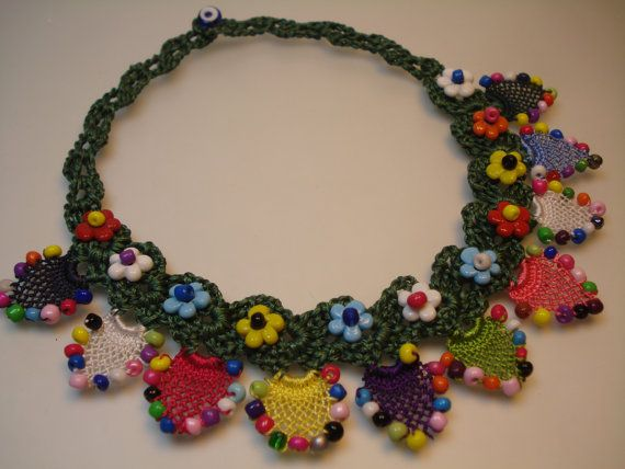Colorful Necklace Spring-Summer Necklace Turkish by FIGENTAKI