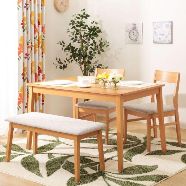 ダイニングテーブル4点セット(ビークSP LBR) | ニトリ公式通販 家具 ...