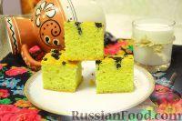 Фото к рецепту: Кукурузный пирог «Богач» с черникой