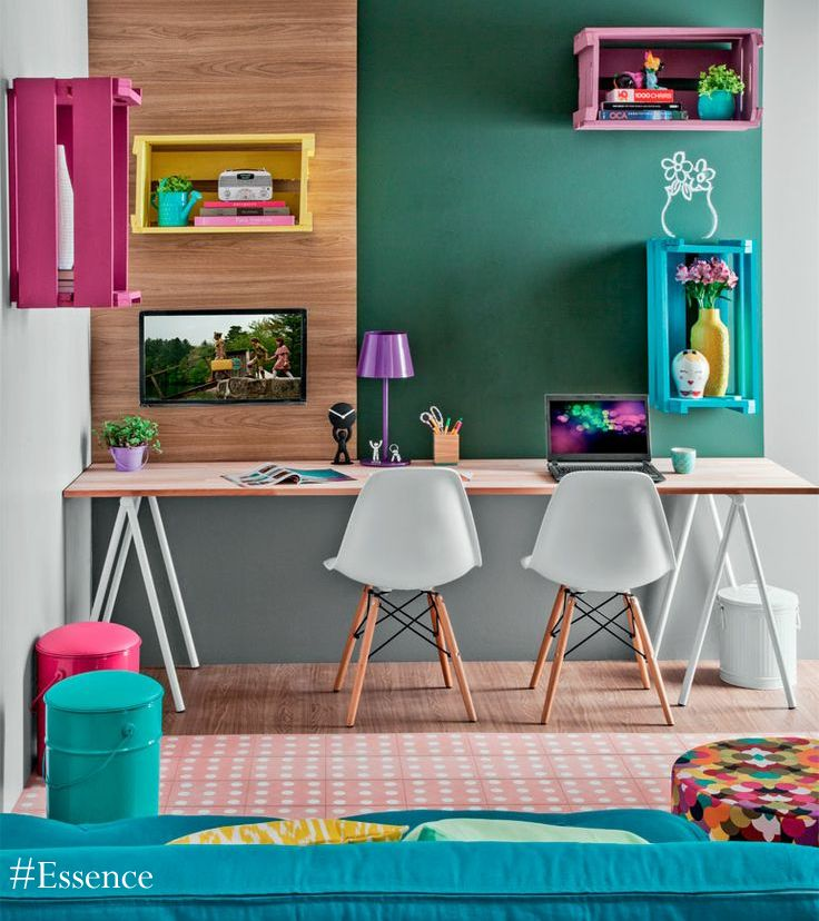 Colours are the key to making your child's room fun and vibrant! #Essence #homedecor #homestyle #decor #realestate