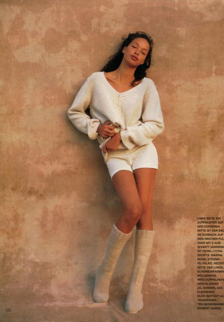 ☆ Brandi Quinones | Photography by Fabrizio Ferri | For Marie Claire Magazine Netherlands | January 1995 ☆ #Brandi_Quinones #Fabrizio_Ferri #Marie_Claire #1995