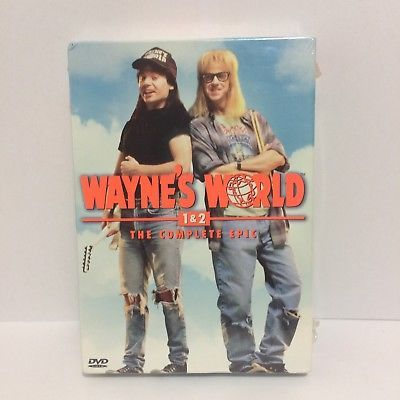NEW Wayne's World 1 & 2 The Complete Epic DVD Set ~ Factory Sealed
