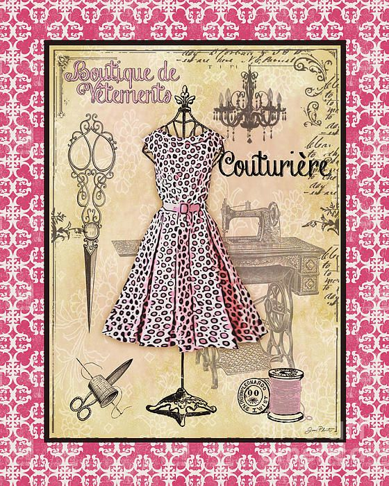 I uploaded new artwork to plout-gallery.artistwebsites.com! - 'French Dress Shop-A1' - http://plout-gallery.artistwebsites.com/featured/french-dress-shop-a1-jean-plout.html via @fineartamerica