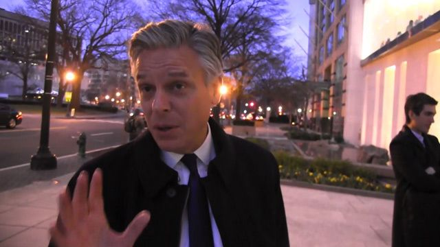"Former US Ambassador to China, Jon Huntsman, Jr., says Sony OWES America ""The Interview""!"