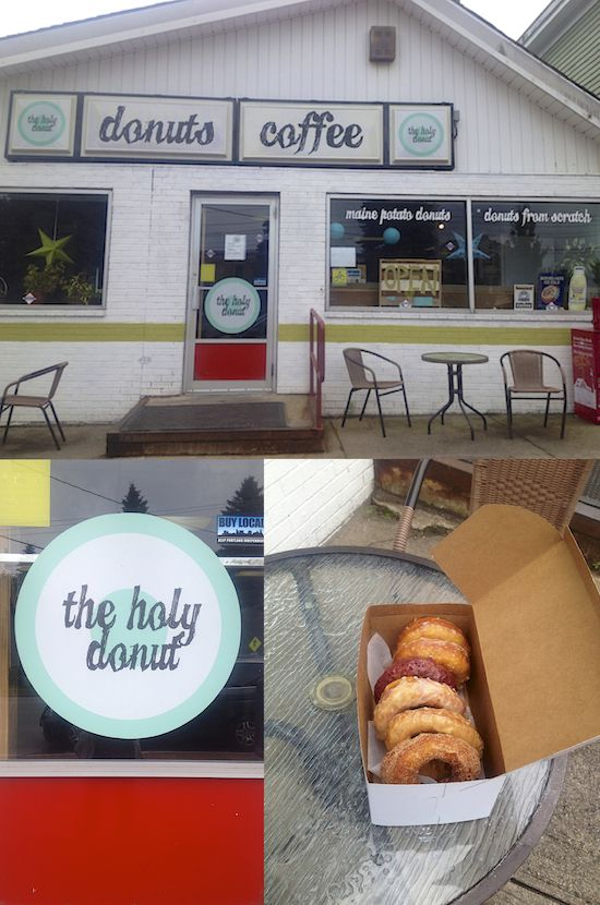 Portland, Maine, Day II: The Holy Mother Of Donuts & Chasing Lighthouses #food #travel #maine via @shuliemadnick