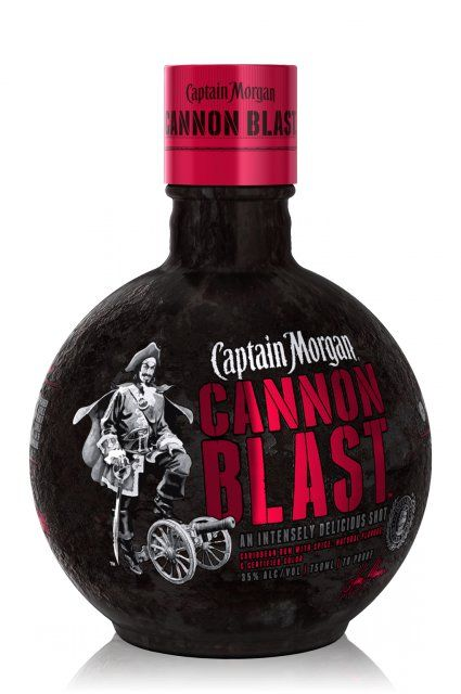 #CaptainMorgan Cannon Blast 0,7L (35% Vol.) // If you like the Captain then you gonna LOVE this! // #CannonBlast #RockDrinks #Boom // http://www.rock-drinks.de/Rum/Captain-Morgan-Cannon-Blast-07L-35-Vol::2504.html
