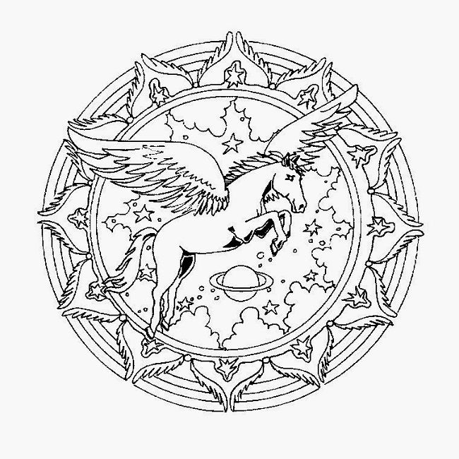 2164 best coloring pages images on pinterest   coloring pages ... - Animal Mandala Coloring Pages Easy
