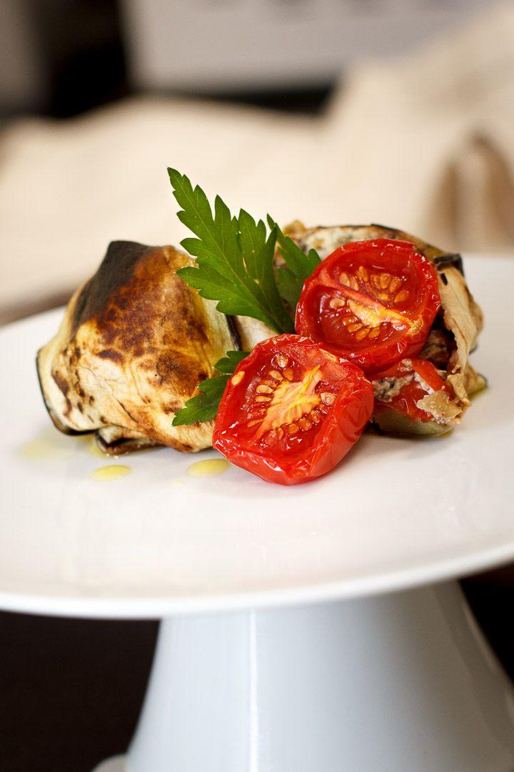 parmigiana di tofu e melanzane