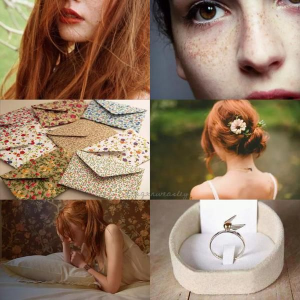 """Harry Potter Aesthetics: Ginevra Molly """"Ginny"""" Potter (née Weasley) """"Harry and Ginny are real soul mates. They're both very strong and very passionate. That's their connection, and they're remarkable..."""