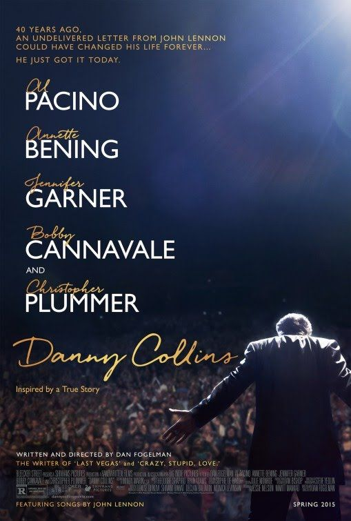 Danny Collins Movie~My dad would have chuckled by seeing his name as a movie title but he would have really gotten a kick out of knowing the movie is based on an aging rocker. Lol
