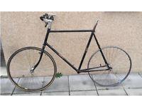 NSU Fixie Singlespeed Rennrad Rahmen 60cm ab 178cm Schwarz Köln - Ehrenfeld Vorschau