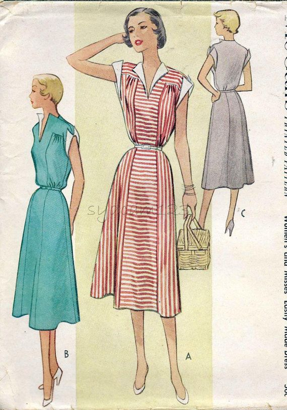 68 best burda vintage images on Pinterest | Vintage kleider, Retro ...
