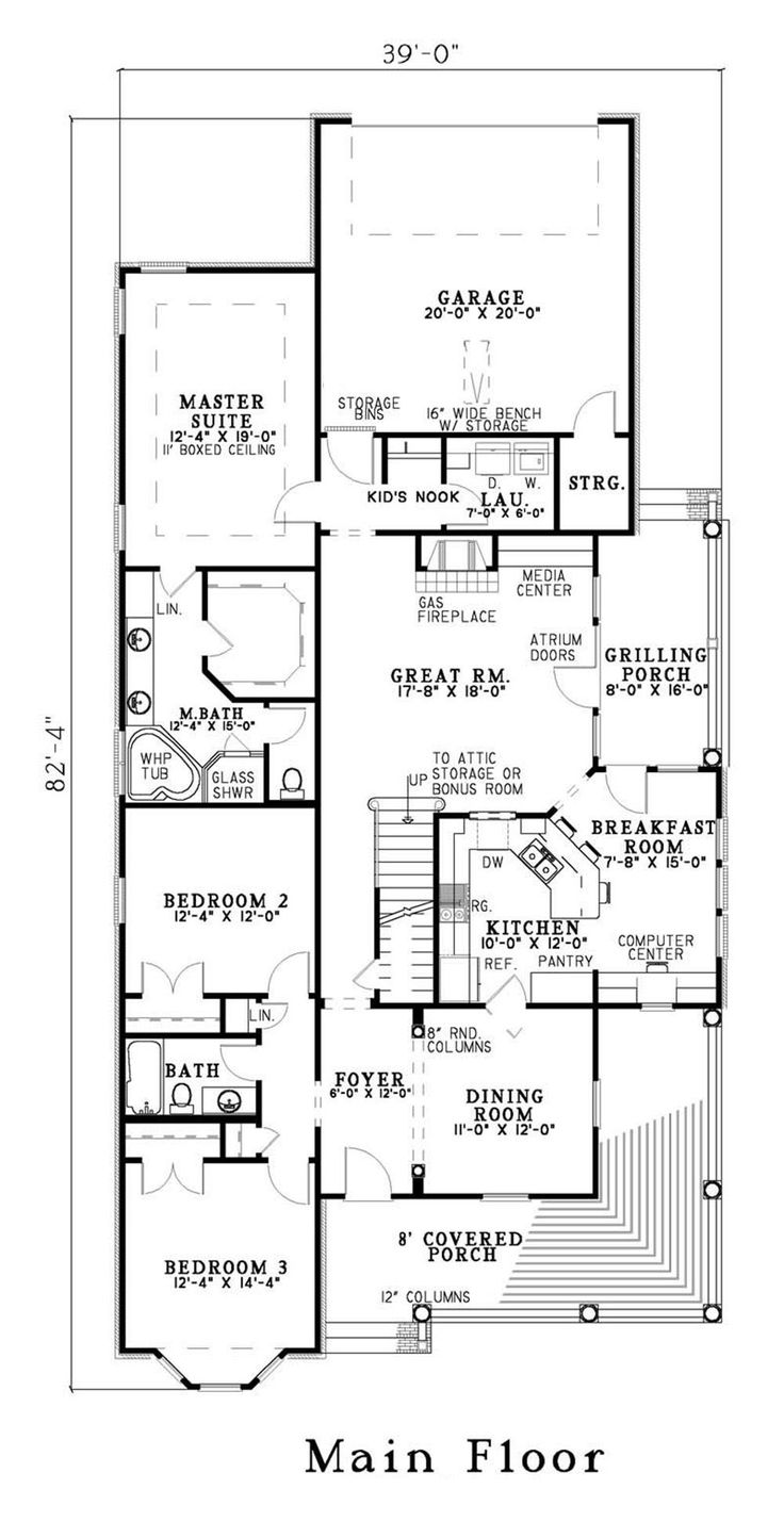 18 best ranch house plans images on pinterest house floor plans floor plan first story