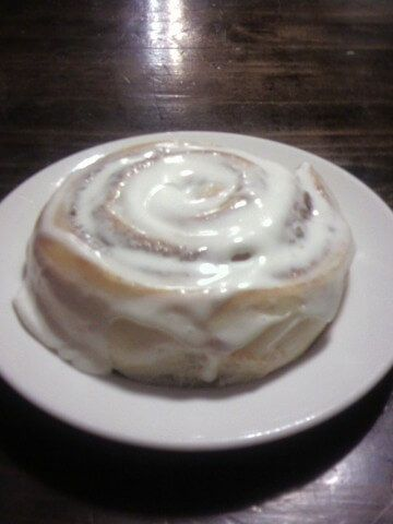 Cinnabon is famous for their perfect cinnamon rolls with creamy icing. Now you can be famous too with your friends and family for copying their recipe at home! | CDKitchen.com