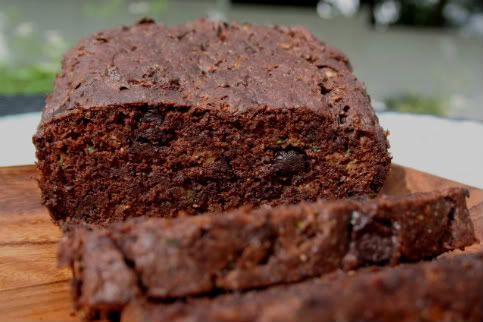 """Double Chocolate Zucchini Bread (Low Carb and Gluten Free) -  3.5g of carbs if you subtract erythritol. Uses almond and flax seed meal. (Comment from site: """"I think this recipe, baked in round pans, would also make a *wonderful* layer cake with some sugar-free chocolate or buttercream frosting."""""""