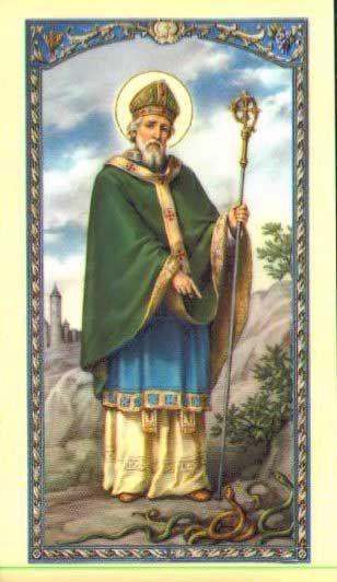 Oración a San Patricio Obispo de Irlanda